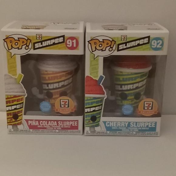 2 Slurpee Funko Pops
